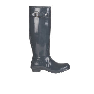 Hunter Women's Original Tall Gloss Wellies - Graphite