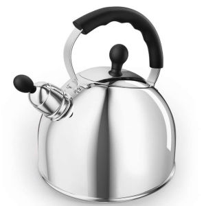 Morphy Richards Equip 2.5Ltr Whistling Kettle - Stainless Steel