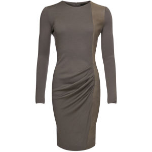 Joseph Women's Grove New Wool Interlock Dress - Taupe