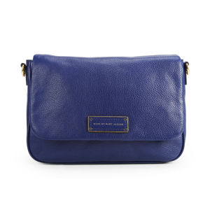Marc by Marc Jacobs Lea Leather Cross Body Bag - Deep Ultraviolet