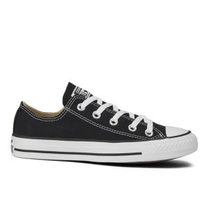 Converse Unisex Chuck Taylor All Star OX Canvas Trainers - Black
