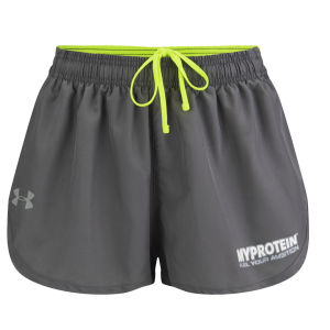 Under Armour® Heatgear Men's Flyweight Run 3 Inch Split Shorts - Graphite