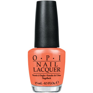 OPI Brazil Nail Lacquer - Where Did Suzi's Man-Go?