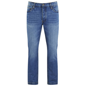 Brave Soul Herren Sprite Regular Fit Jeans - Blau