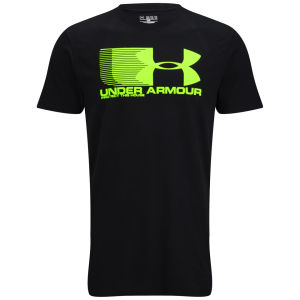 Under Armour Men's No Speed Limit T-Shirt - Black/Hyper Green
