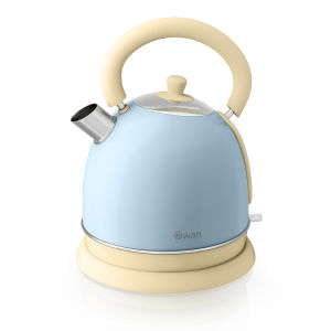 Swan SK261020BLN Dome Kettle - Blue - 1.8L