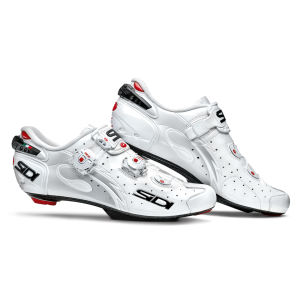 Sidi Wire SP Carbon Vernice Cycling Shoes - White