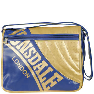 Lonsdale East West Perforated Front Messenger Bag