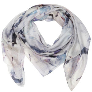 French Connection Wild Horses Silk Scarf - Multi