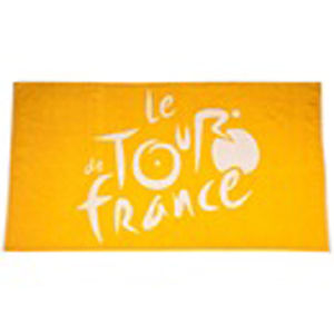 Tour de France 2013: Beach Towel with Bag - Yellow