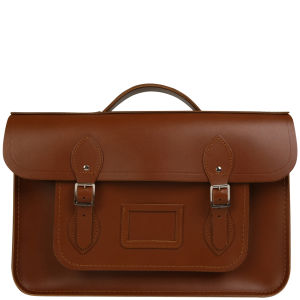 Cambridge Satchel Company 15 Inch Leather Backpack - Vintage
