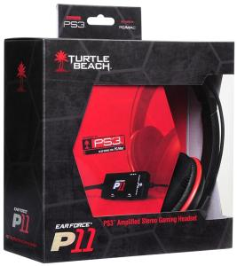 Turtle Beach P11 Earforce Headset PS3/PC