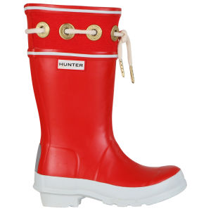 Hunter Kids' Thurlestone Wellies - Pillar Box Red