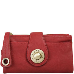 Fiorelli Seb Medium Push Lock Purse/Wristlet - Red