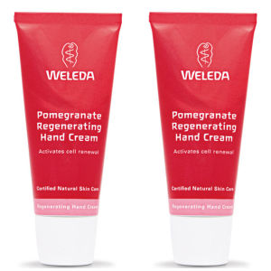 Weleda Pomegranate Regenerating Hand Cream Duo