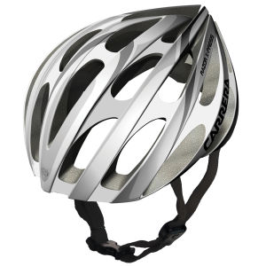 Carrera Razor X-Press 2014 Road Helmet - Silver/White