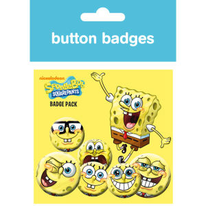 Spongebob Expressions - Badge Pack