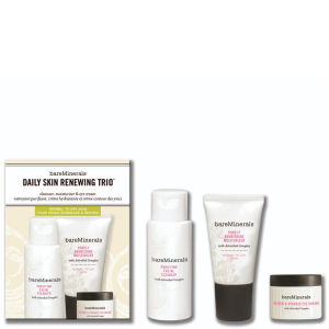 bareMinerals Daily Skin Renewing Trio Normal To Dry Skin (3 Products)