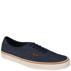 Vans Authentic Canvas  Trainer (Denim) - Dark Blue/Marshmallow