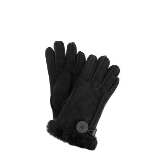 UGG Australia Women's Bailey Button Gloves - Black