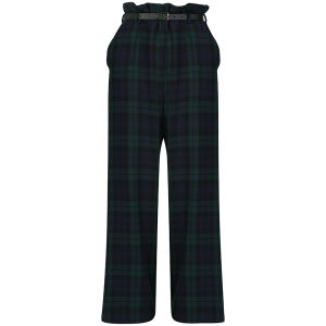 Vivienne Westwood Anglomania Women's Palais Trousers - Blue/Black/Green