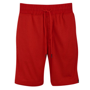 Jack & Jones Men's Mesh Sweat Shorts - Flame Scarlett