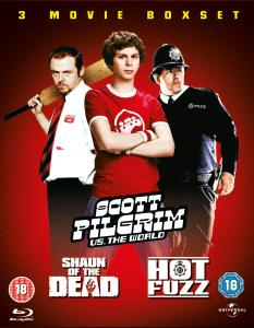 Scott Pilgrim / Hot Fuzz / Shaun of the Dead