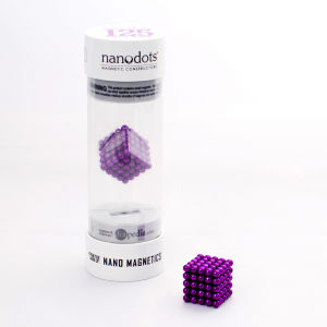 Nanodots Magnetic Constructors Purple - 125 Dots