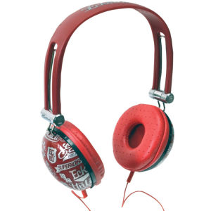 ECKO Unlimited Impact Headphones inc Mic - Red