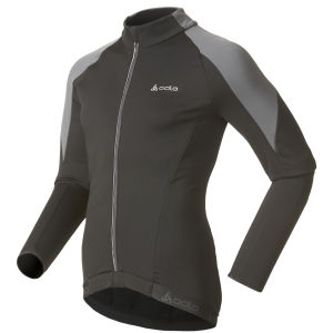 Odlo Women's Cover Long Sleeve Full Zip Jacket - Black