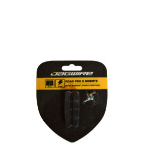Jagwire Brake Pad Road Pro Dry Insert - Yellow/Black
