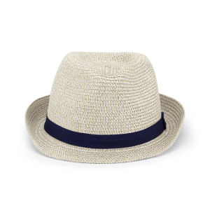Impulse Women's Ribbon Trilby - White