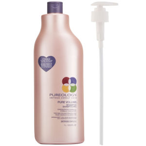 Pureology New Pure Volume Shampoo (1000ml) With Pump