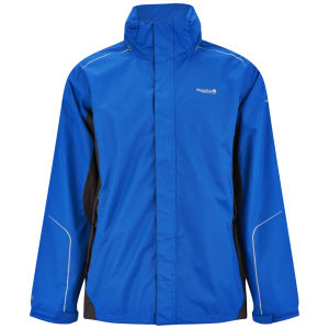 Regatta Men's Sangson Waterproof ISOTEX 5000 Jacket - Oxford Blue/Ash