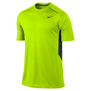 Nike Men's Legacy Short Sleeve T-Shirt - Volt Green
