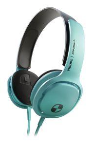 Philips SHO3300 O'Neill Cruz Headband Headphones - Mint