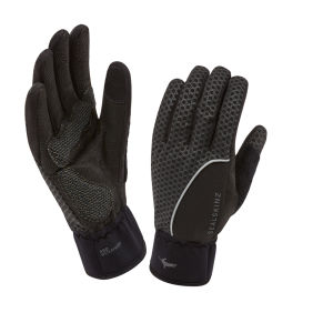 SealSkinz Performance Cycle Gloves - Black/Grey
