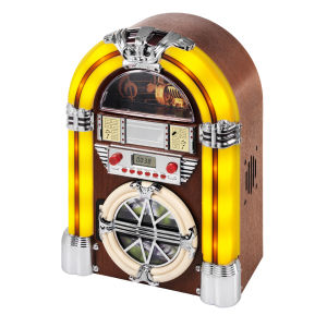 Jukebox Station with CD Player and Radio