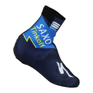 Saxo Bank Tinkoff Bank Team Aero Tt Shoe Covers - 2013