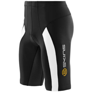 Skins Men's TRI400 Shorts - Black/White
