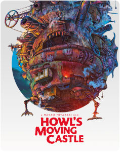 Howls Moving Castle - Steelbook Edition (Includes DVD)