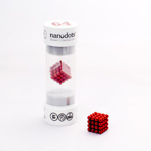 Nanodots Magnetic Constructors Red - 64 Dots