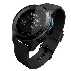 Cookoo Smartwatch - Black on Black