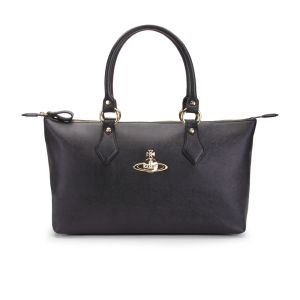 Vivienne Westwood Women's Divina EW Faux Leather Tote - Black