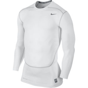Nike Men's Core 2.0 Compression Long Sleeve Top - White