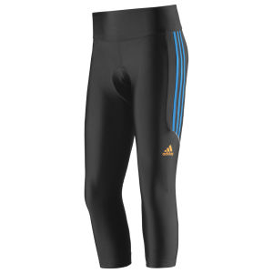 Adidas Response 3/4 Tights - Black/Solar Blue