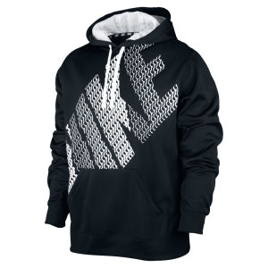 Nike Men's KO Block Logo Hoody - Black