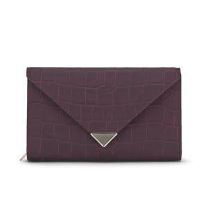 Alexander Wang Prisma Envelope Clutch Bag - Beet