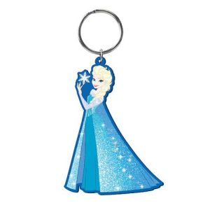 Disney Frozen Snow Queen Elsa Soft Touch Key Chain