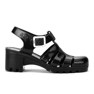 JuJu Women's Babe Heeled Jelly Sandals - Black